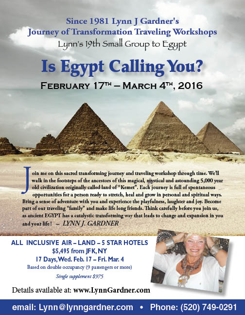 Lynn's 19th small group to Egypt: Feb 17 - Mar 4 2016